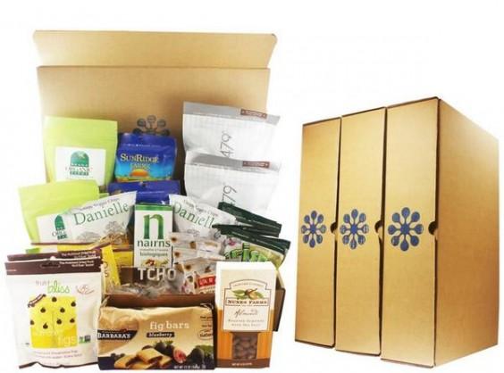 Subscription Box Healthy Snacks: Blissmo BREAKbox