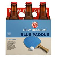 New Belgium Blue Paddle