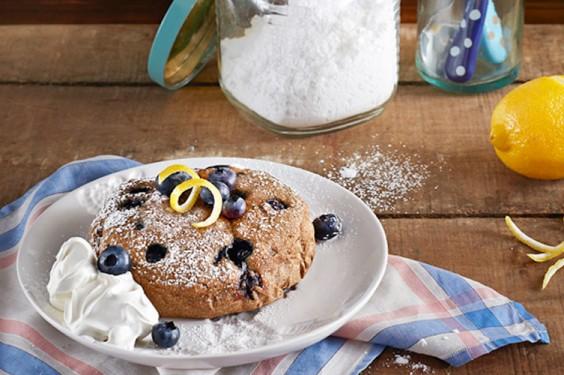 Blueberry Lemon Cake Crock Pot Recipe