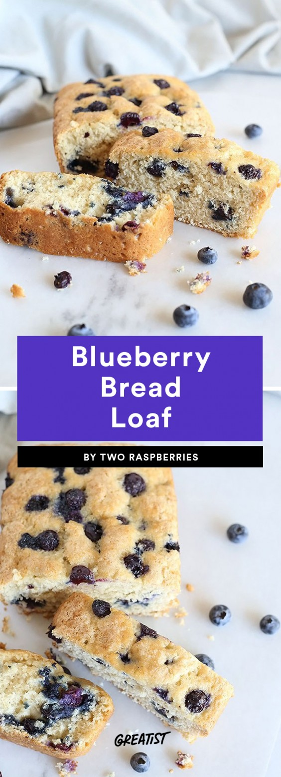 Blueberry Bread Loaf