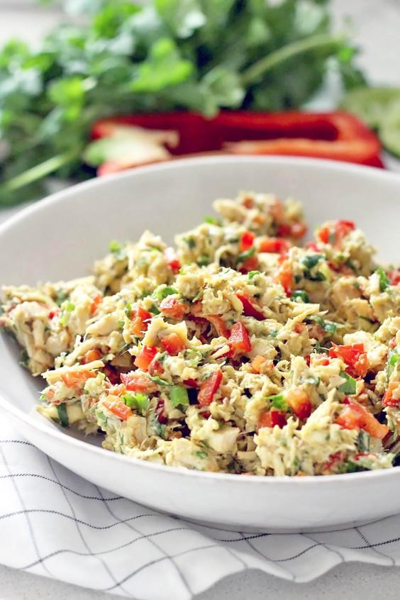 Whole30 Lunches: Fiesta Chicken Salad