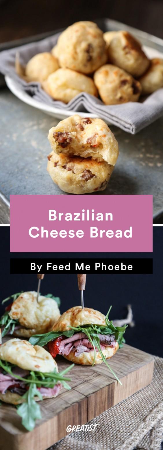 Brazilian food: Cheese Bread