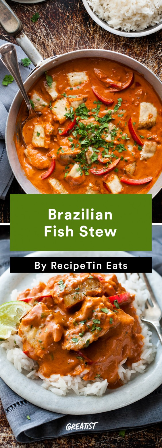 Brazilian food: Fish Stew