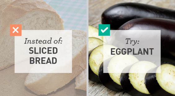 Low Carb: Eggplant for Sliced Bread
