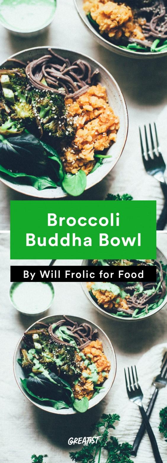 will frolic for food: Broccoli Buddha Bowl