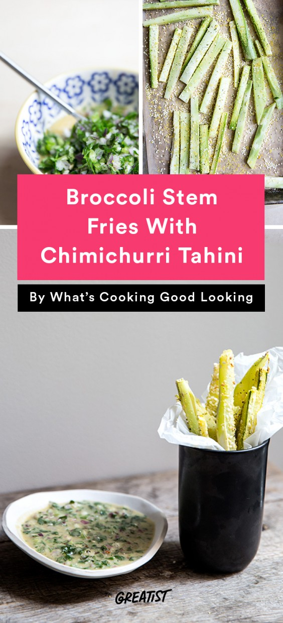 whats cooking good looking: Broccoli Stem Fries