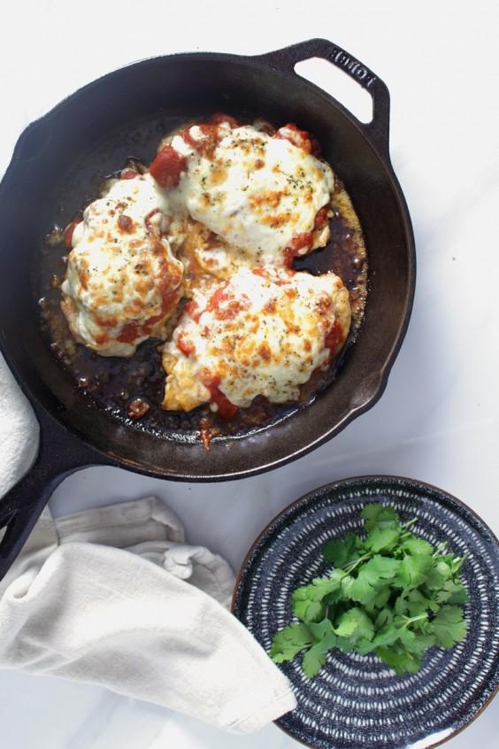 6. Keto Chicken Parmesan #greatist https://greatist.com/eat/keto-chicken-recipes