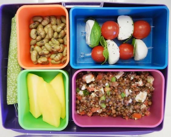 Bruschetta Lentil Bento Box