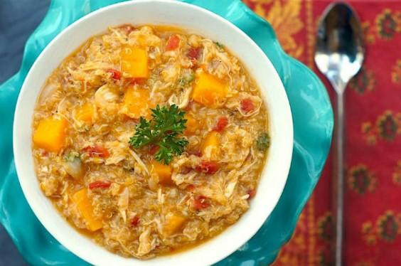 Butternut Squash Chicken Stew