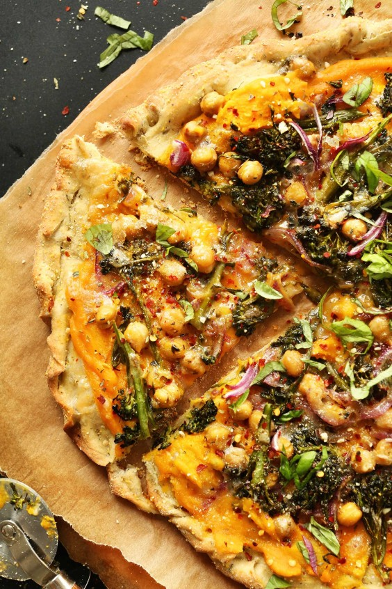 Dairy-Free Butternut Squash Pizza