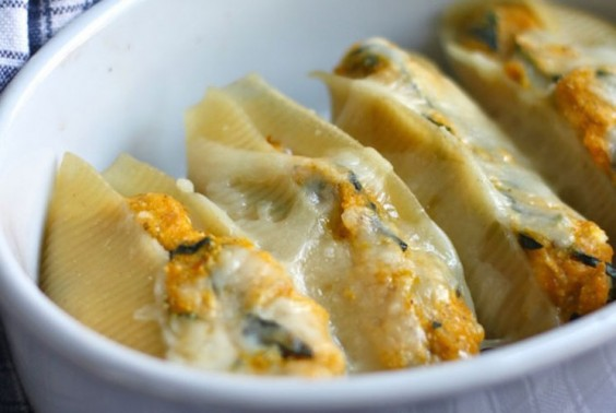 30. Butternut Squash and Kale Stuffed Shells