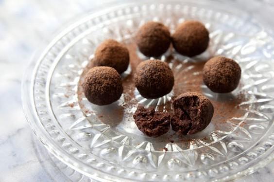Cacao Chia Truffles