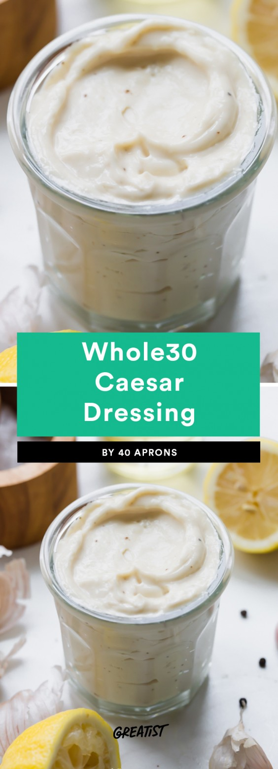 Whole30 Caesar Dressing