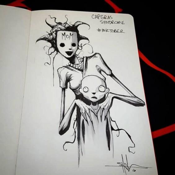 capgras syndrome illustration