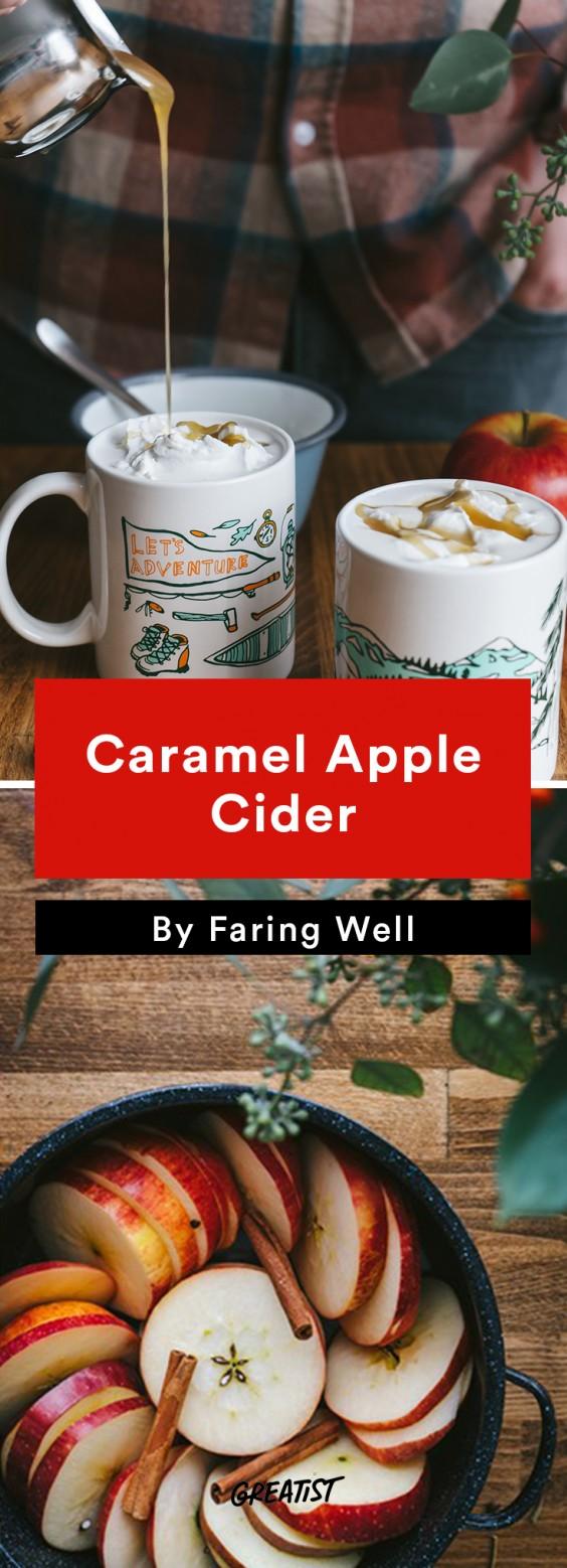 faring well: Caramel Apple Cider
