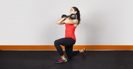 Quick Kettlebell Workout for Cardio and Strength