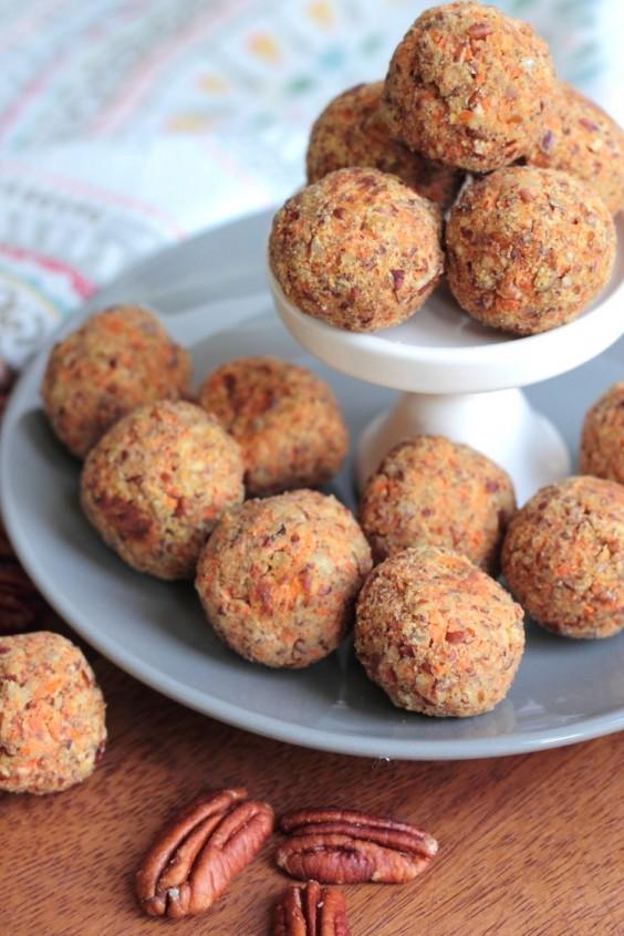 Paleo Dinner Party Ideas Part - 34: Paleo Snacks: Carrot Cake Energy Balls