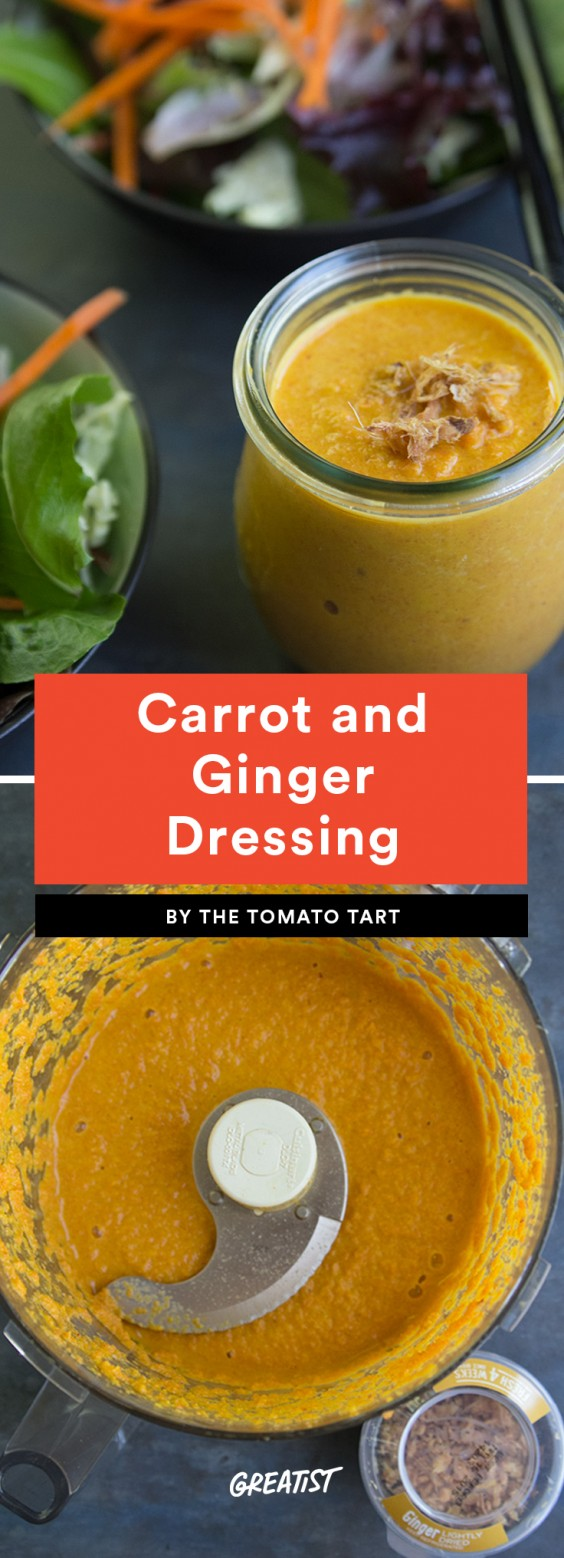 Carrot and Ginger Dressing