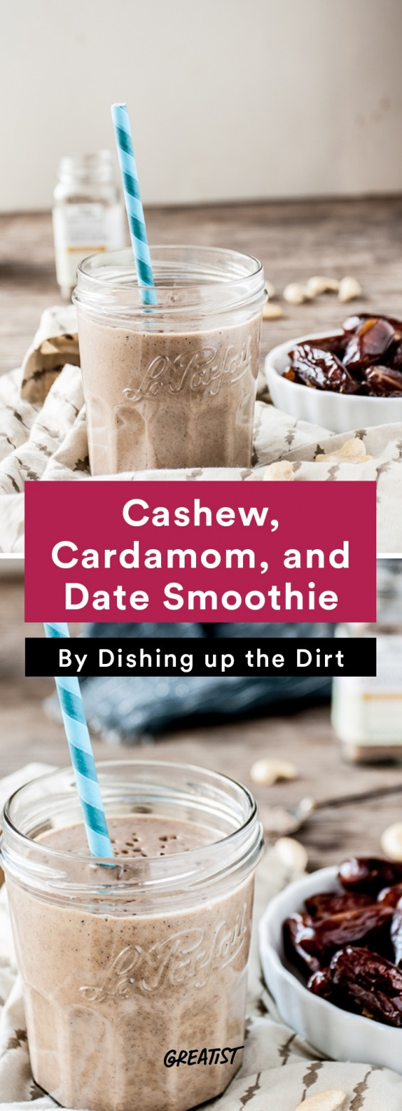 Cashew Milk roundup: Cashew and Date Smoothie