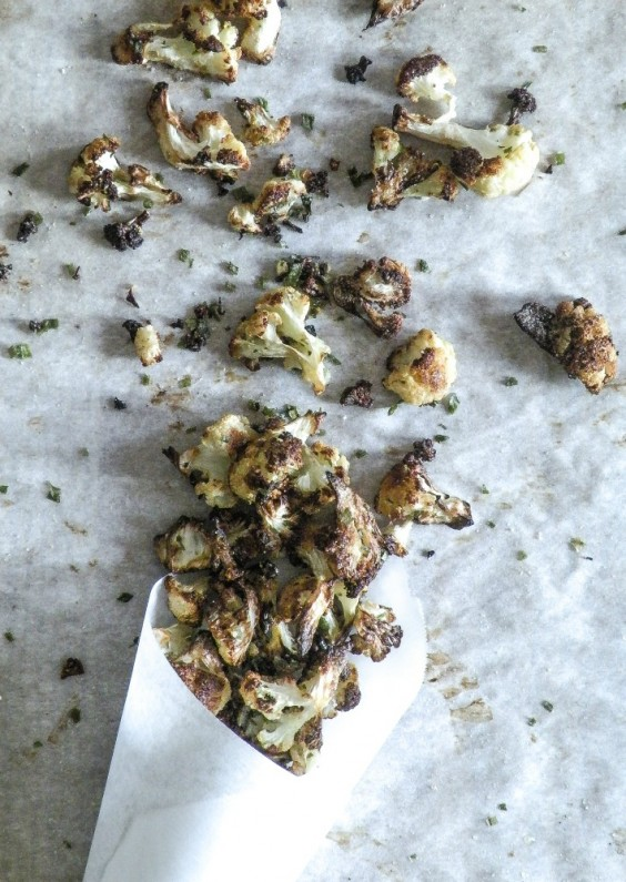Paleo Snacks: Cauliflower Popcorn