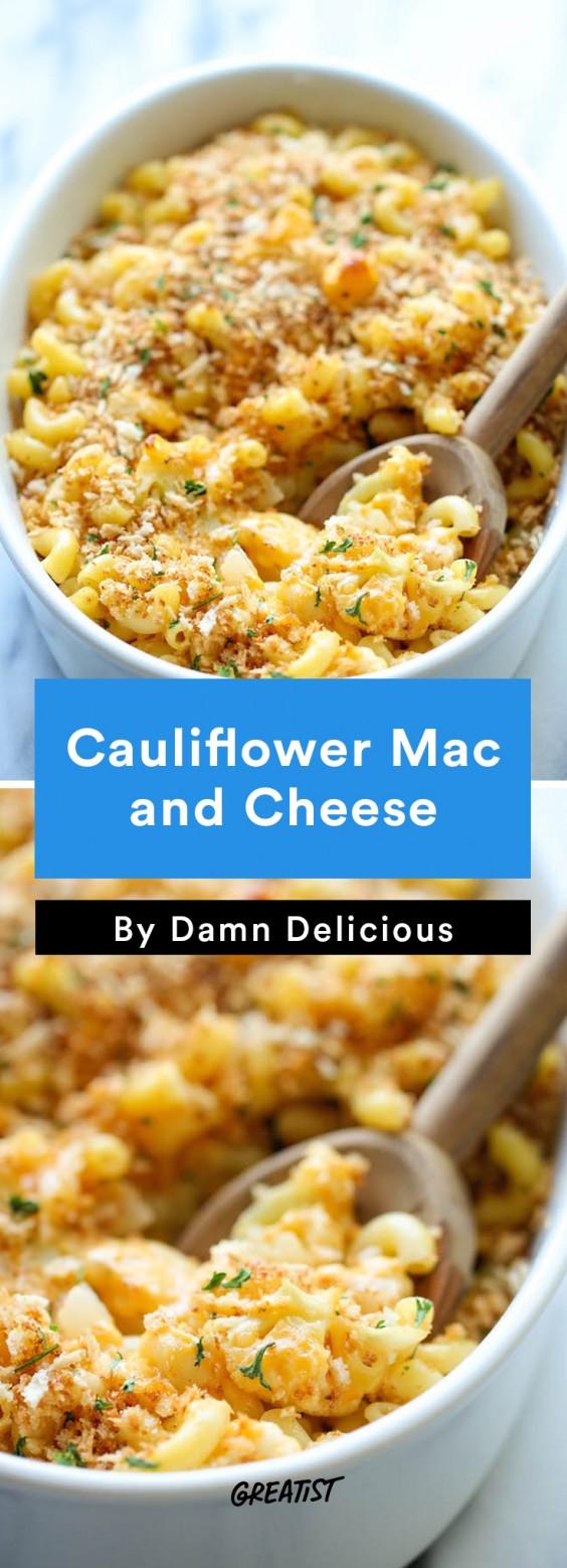 american comfort: Cauliflower Mac and Cheese