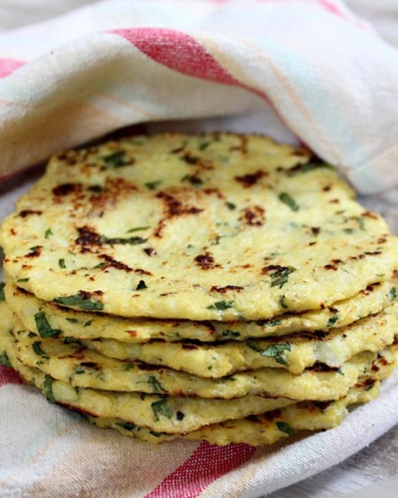 Paleo Cauliflower Tortillas