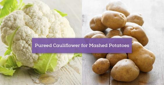 Pureed Cauliflower for Mashed Potatoes