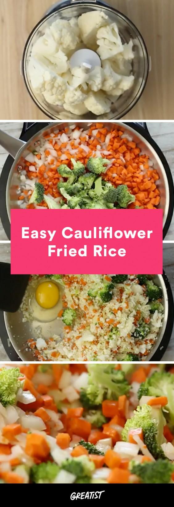 video: cauliflower fried rice
