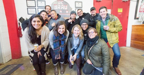 Cava Grill Employee Brewery Tour