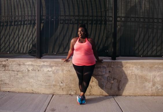 Plus Size Workout Clothes: Mesh Leggings