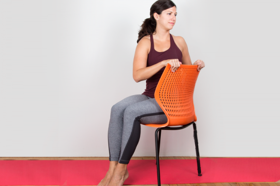 The 10 best yoga poses for inflexible people greatist for Chaise debout assis