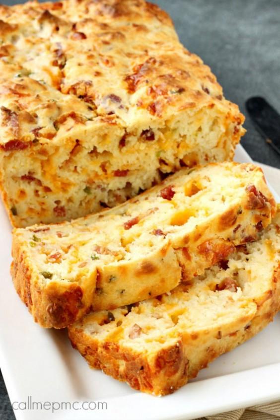 15. Bacon  Jalapeño Popper Cheesy Bread