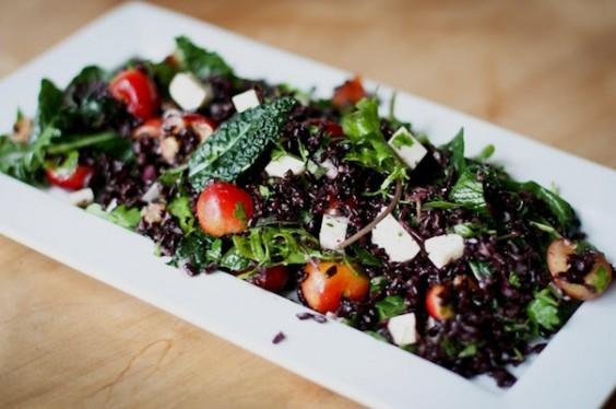 Cherry Kale Salad
