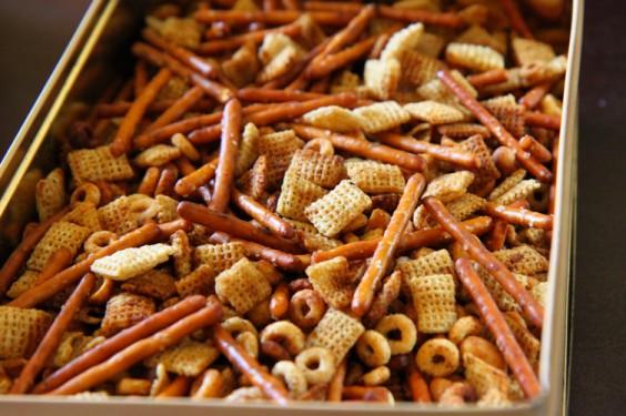 Crock Pot Chex Mix Recipe