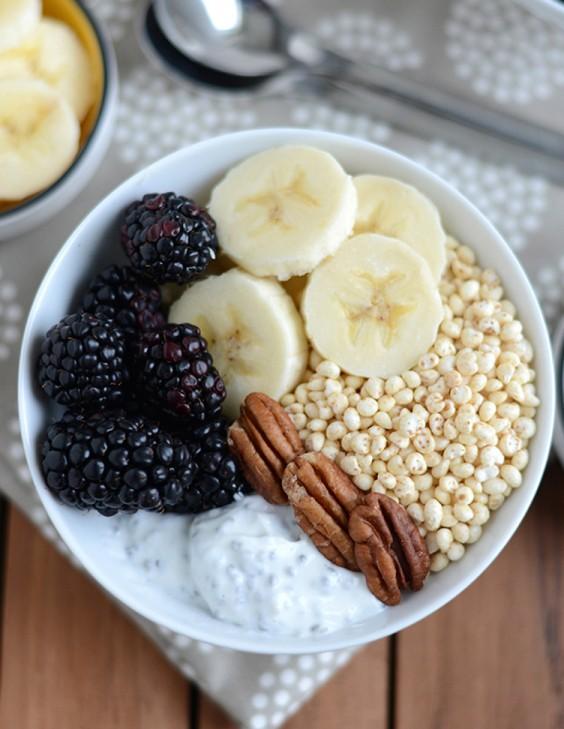 3. Chia Yogurt Power Bowl