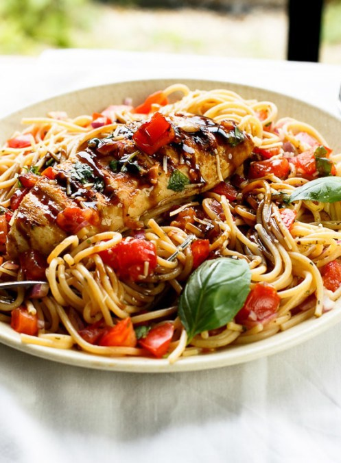 Chicken Bruschetta Pasta Salad Recipe