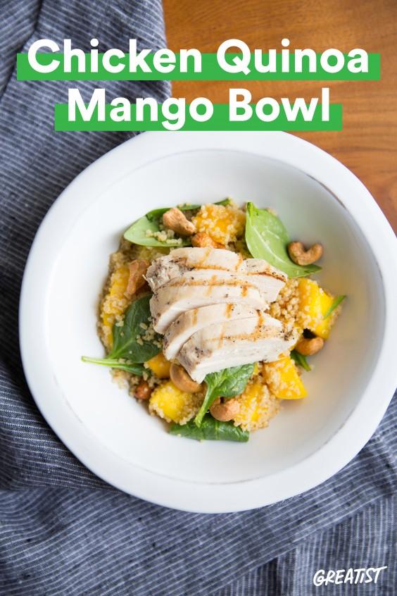 Chicken Mango Bowl