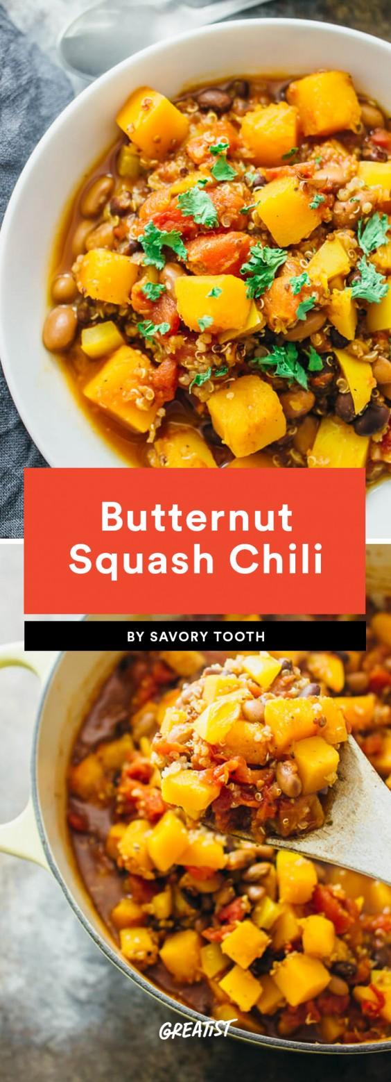 Butternut Squash Chili Recipe