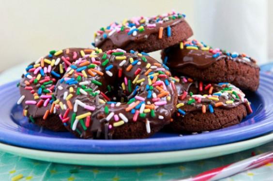 Chocolate Chocolate Donuts