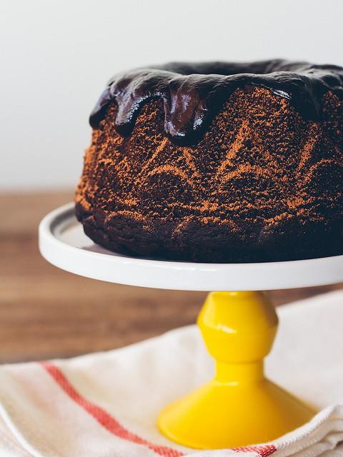 Tofu Recipes: Chocolate Stout Cake With Whiskey Ganache