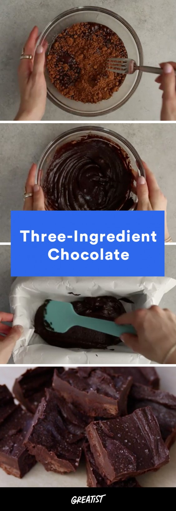 video: three ingredient chocolate