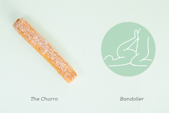 Image result for The Churro The same thin girth from base to tip, length varies