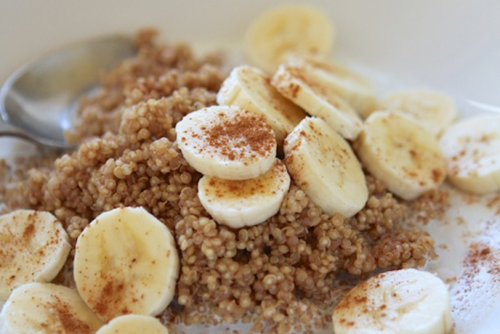Cinnamon Maple Breakfast Quinoa