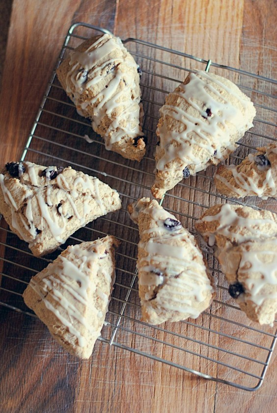 Cinnamon Raisin Scones