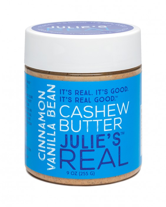 Julie's Real Cinnamon Vanilla Bean Cashew Butter