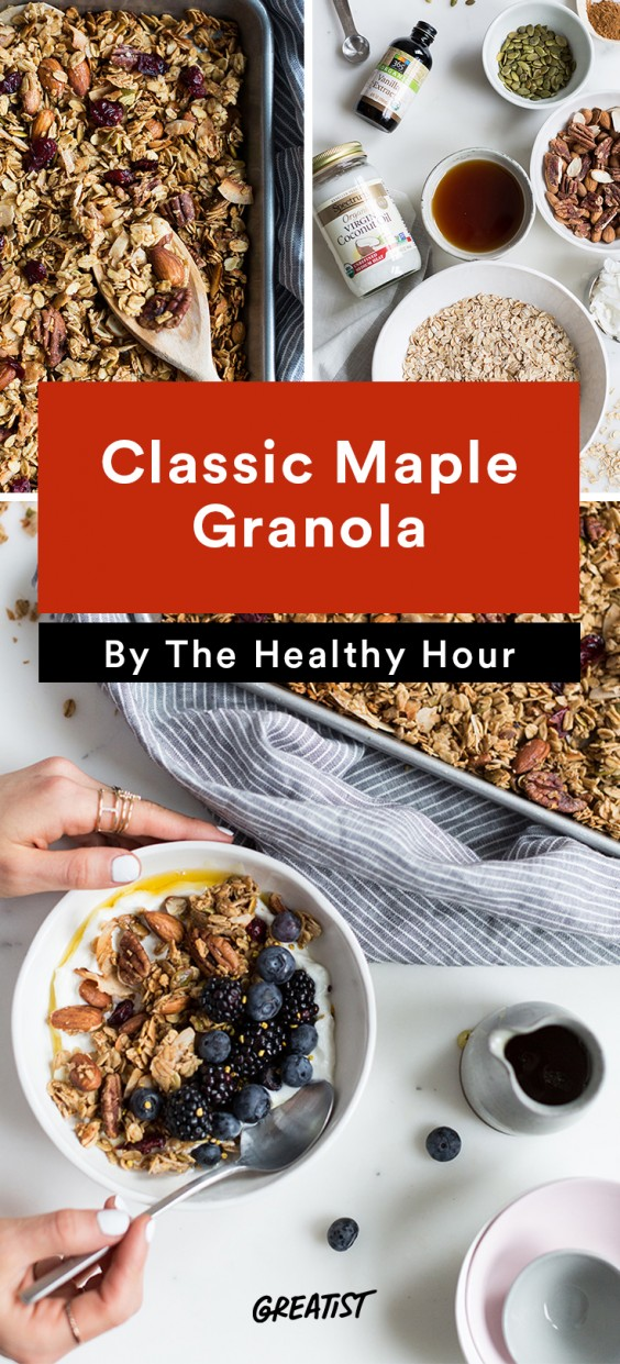 the healthy hour: Granola