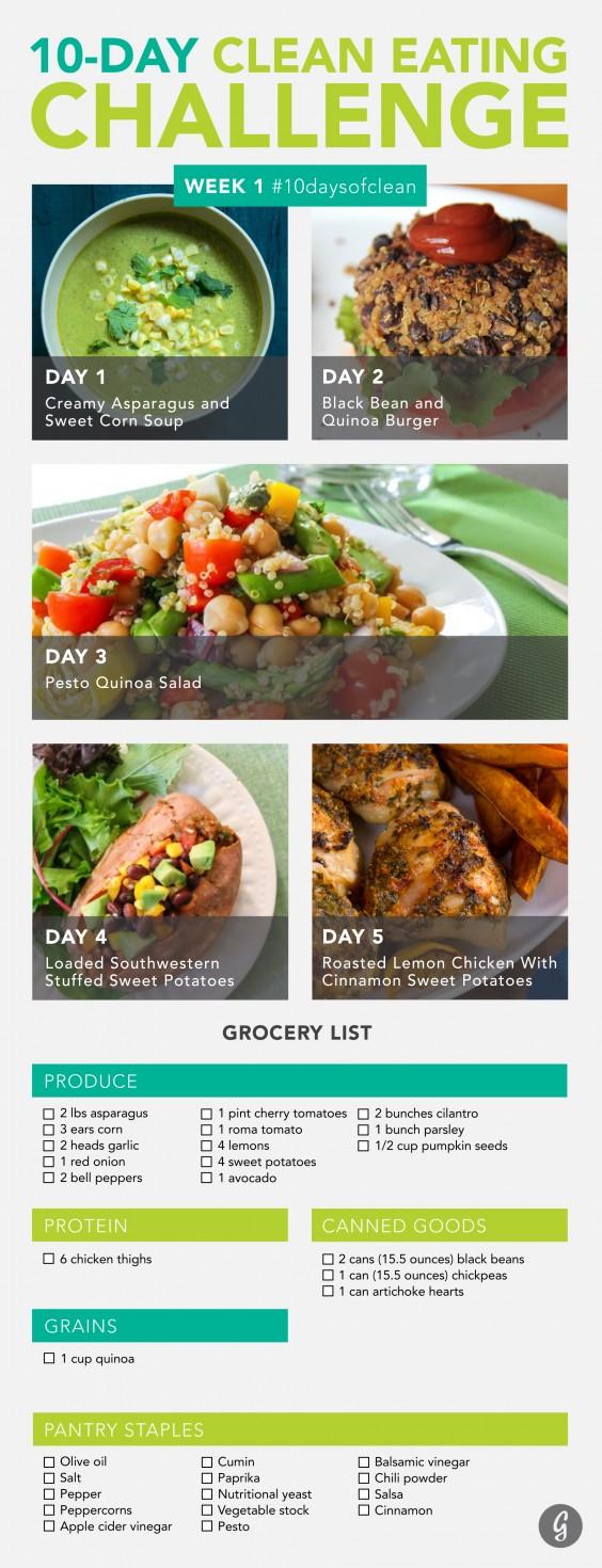 Clean Eating Challenge Week 1