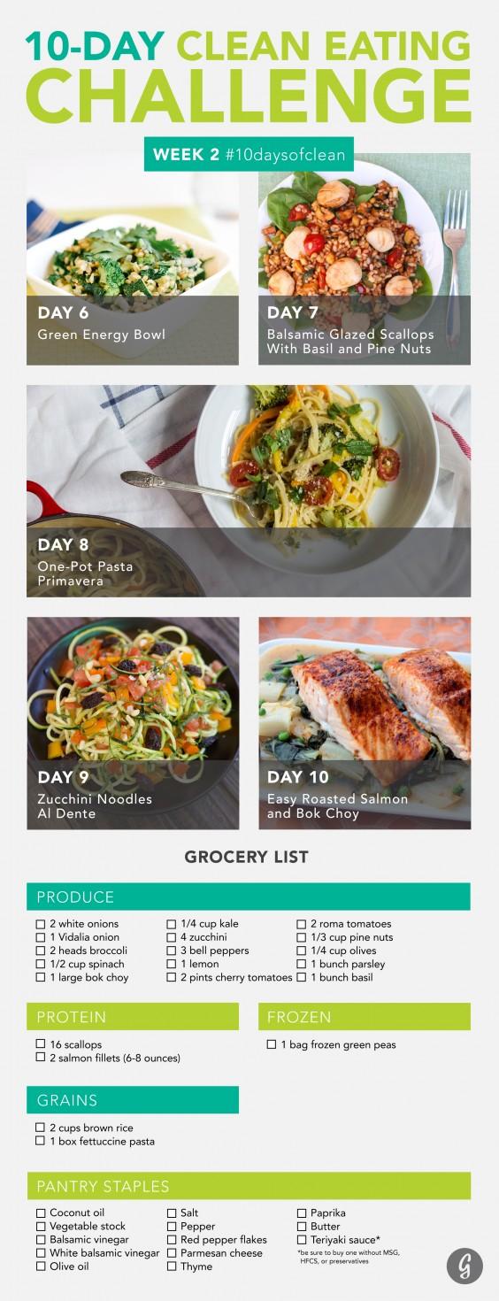 Clean Eating Challenge Week 2