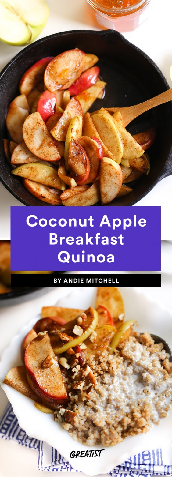 Coconut Apple Breakfast Quinoa