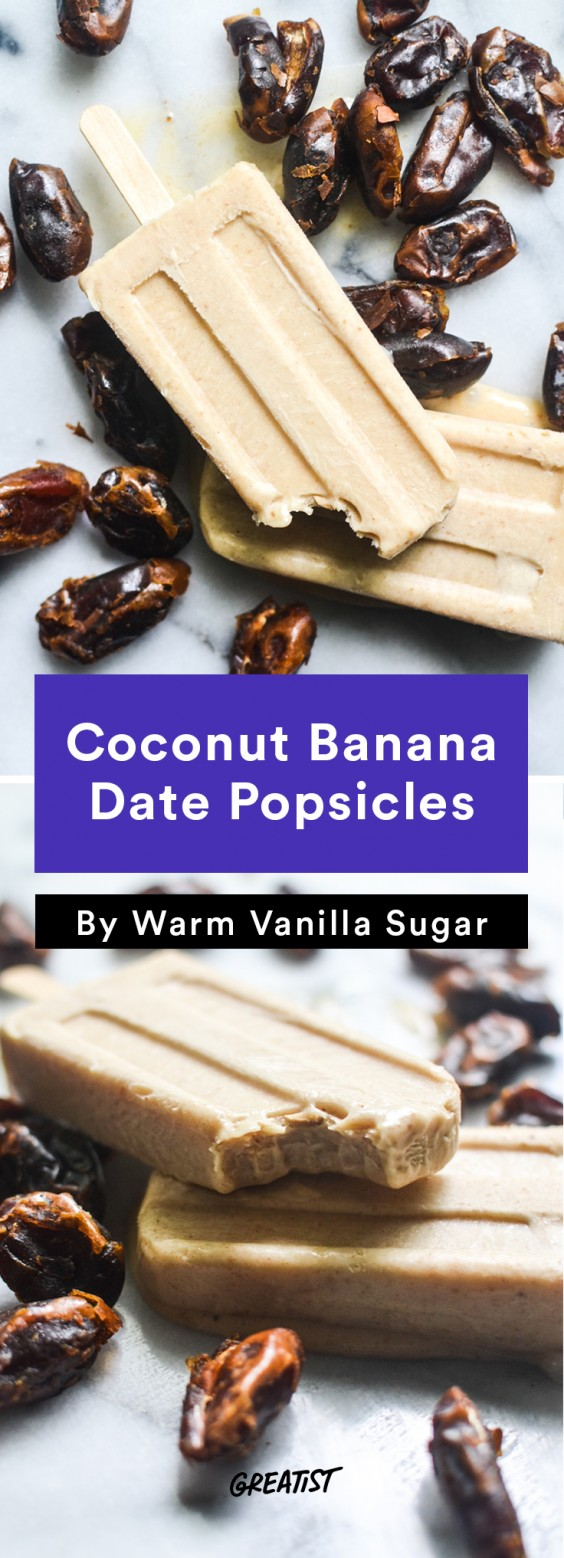 Popsicles: Coconut Banana Date